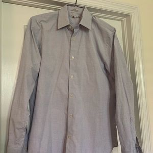 Men's Express fitted button down shirt